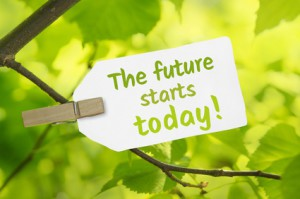 The future starts today!